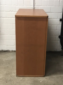 IKEA NIKLAS Cabinet With Doors, Beech Wood (Discontinued Series) - 130121-01