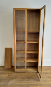 IKEA BILLY BYOM Bookcase With Glass Doors - 300421-01