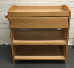 MOTHERCARE Wood Baby Changing Table/Dresser With 1 Drawer & 2 Shelves - 176570