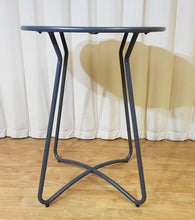 Load image into Gallery viewer, Grey Metal Side Table