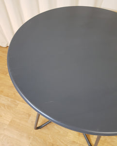 Grey Metal Side Table