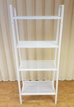 Load image into Gallery viewer, IKEA LERBERG White Metal Shelf Unit