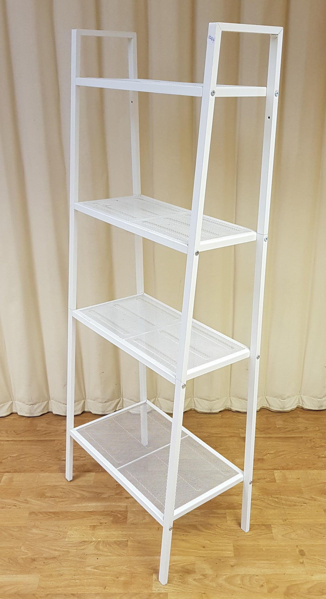 IKEA LERBERG White Metal Shelf Unit