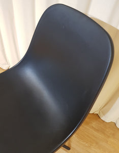 Black Contemporary Desk Office Chair
