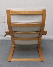 Load image into Gallery viewer, IKEA POANG Fabric Armchair, Oak Veneer/Beige - 250321-05