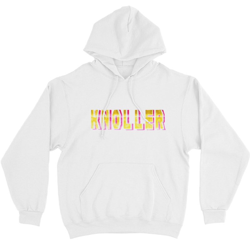 PINK & YELLOW<br/> HOODIE WIT
