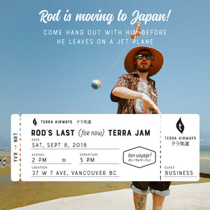 Sep 8, 2018 - Rod's Last Terra Jam! (for now)