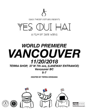 Nov 20, 2018 - Yes Oui Hai World Premiere
