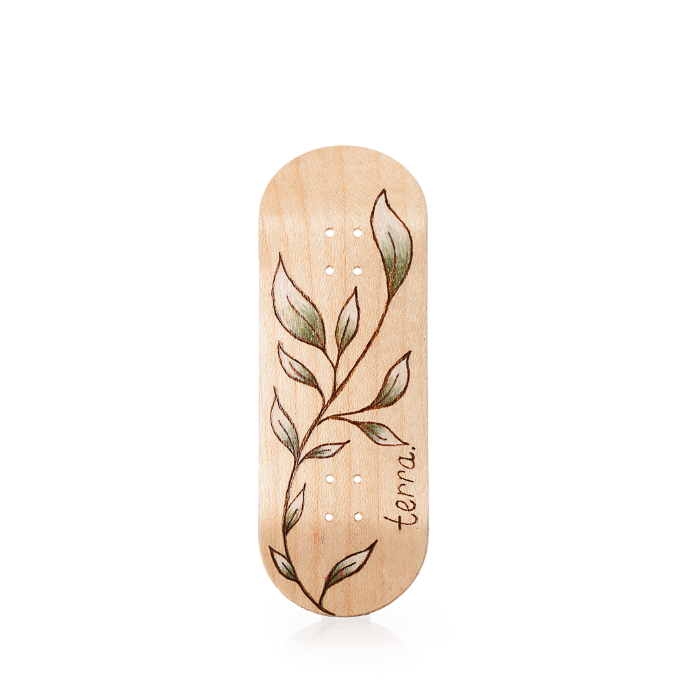 Fingerboard Deck - Branching Burns