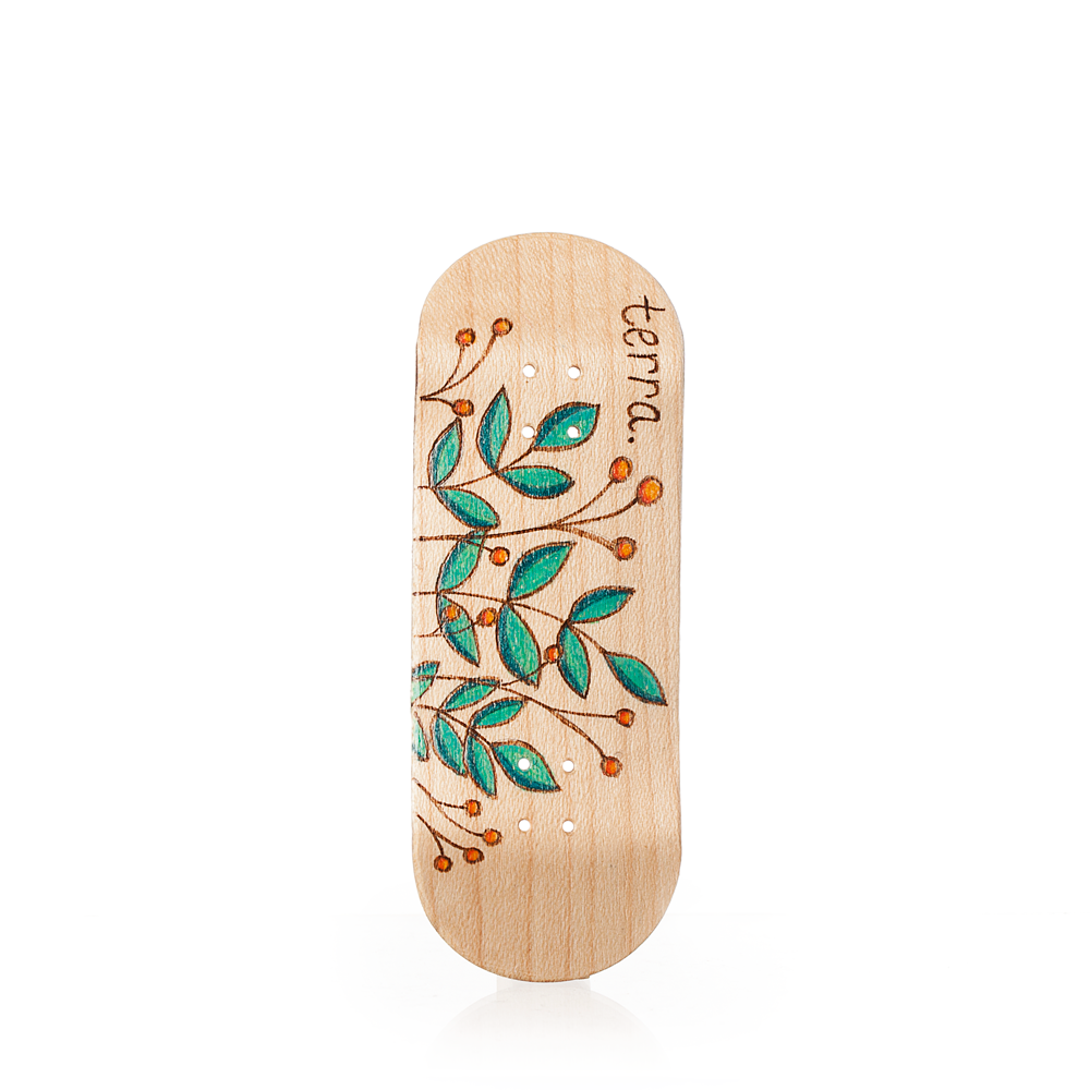 Fingerboard Deck - Berry Burns