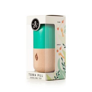Terra Pill - Midsize Leaf Green