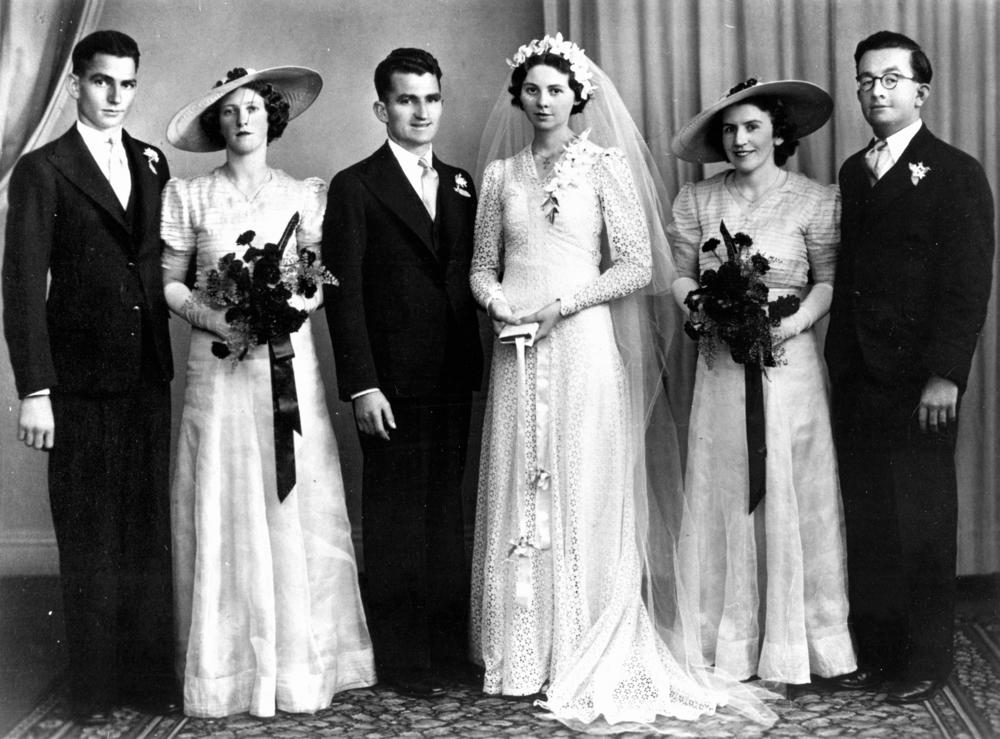 1940's Bridal Fashion – Modesty in the War Years