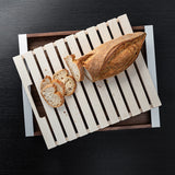 bulthaup wooden tray and bread cutting board