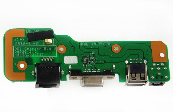 Dell Inspiron 1545 07534-2 Charger Power Jack VGA USB Board 08530