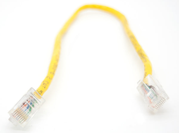 10-Pack Black Box Corporation 13 Inch GigaBase 350 CAT5e Yellow Patch Cable
