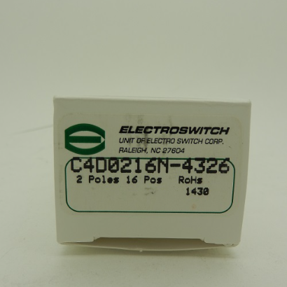 Electroswitch C4 Series Rotary Switches C4D0216N-4326