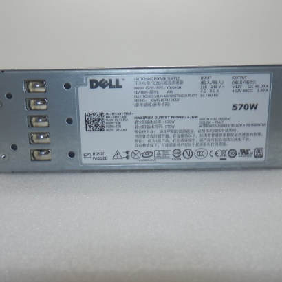Dell 570W Switching Power Supply DP/N: 0FU100 C570A-S0