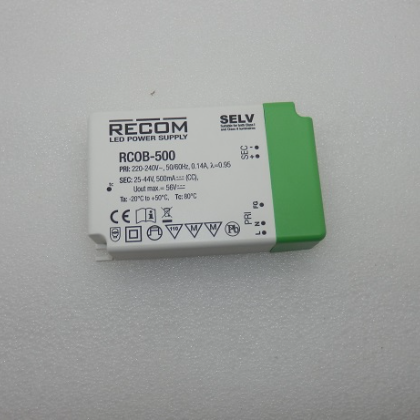 Recom 220-240V 50/60Hz 0.14A LED Power Supply RC0B-500
