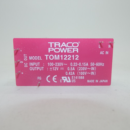 Traco Power Switching Power Supply TOM 12212