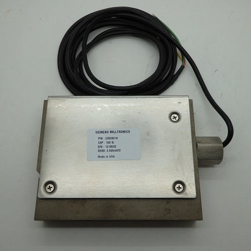 SIE 100lb Comp 2mM/V C465 SS Load Cell PBD:23900010