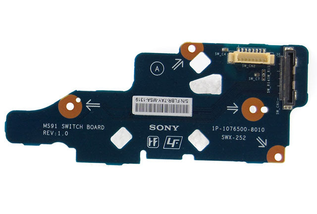 SONY Vaio VGN-FZ21M MS91 Power Switch Board SWX-252 1P-1076500-8010