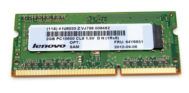 HP Smart 2GB PC3-10600 DDR3-1333MHz CL9 204-Pin SoDimm Memory Module PN:536723-292 P/N:SH564568FH8NZ