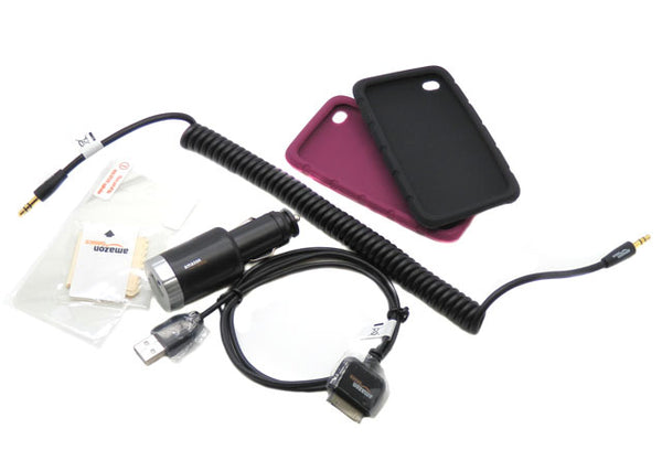 Accessories Bundle Apple iPod Touch 4th Gen. Cable Case & Charger B0062XB9FE