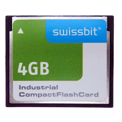 Swissbit 4GB Industrial Compact Flash SLC NAND C-320 Memory Card