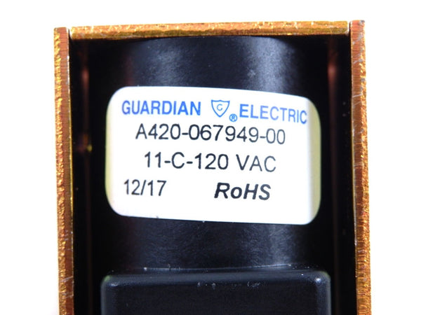 Guardian Puck Release Solenoid for Coin / Pro Style Hockey Tables A420-067949-00