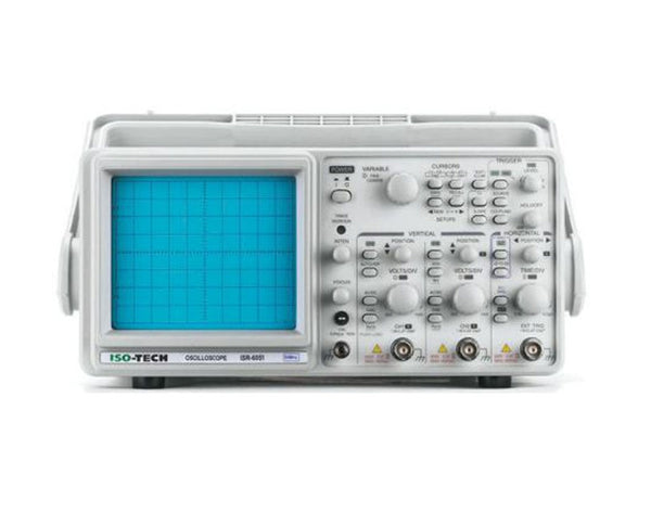 ISO-TECH 2 Channel 50MHz Monochrome Analogue Oscilloscope ISR6051