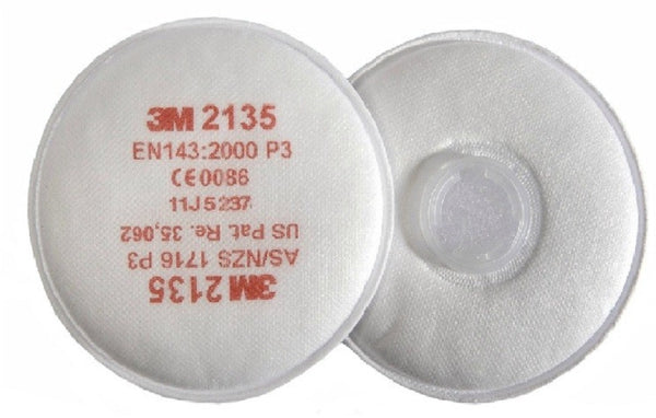 2 Pack of 3M 2135 P3 R Particulate Filters