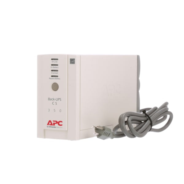 APC 6-Outlet 350VA CS Battery Backup System BK350