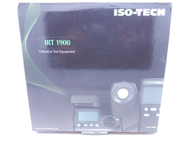 ISO-TECH 500mA 230V 50Hz/60Hz Digital RCD Tester IRT1900