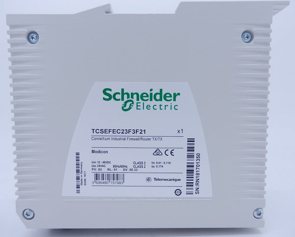 Schneider Electric ConneXium Industrial Ethernet Firewall/Router TCSEFEC23F3F21