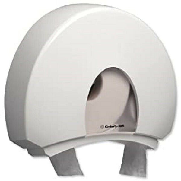 Kimberly Clark Aqua 146x470x399mm White Jumbo Toilet Tissue Dispenser 6987