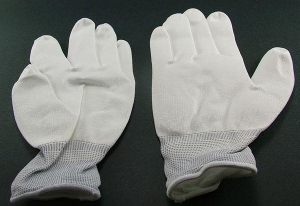 12 Pack of XL White Stauffer Industrial Work Gloves K13NWUC-XL