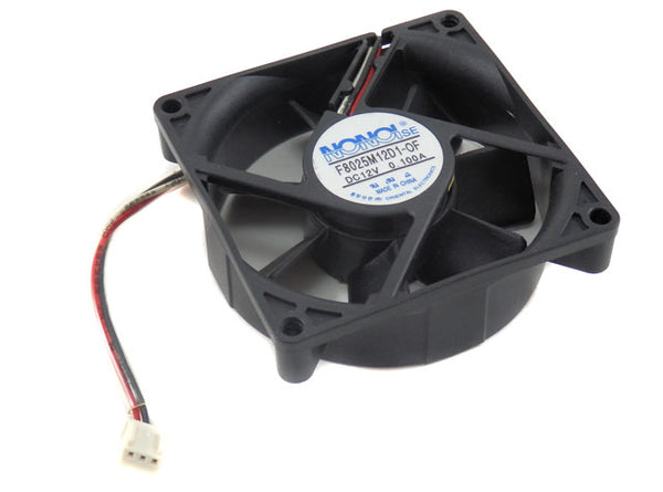 NONOIse 80x80x25mm DC12V 0.100A Replacement Cooling Fan F8025M12D1-OF
