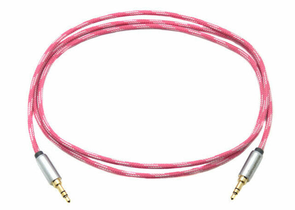 MediaBridge 4 Foot Tangle-Resistant 3.5mm Male Audio Cable MPC-35-4TPI/WH