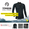 Sharkskin Titanium Chillproof Long Sleeve Full Zip Men  | Dive.VENTURES