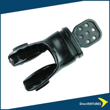 Aquatec MP-950 Moldable Mouthpiece  Black| Dive.VENTURES