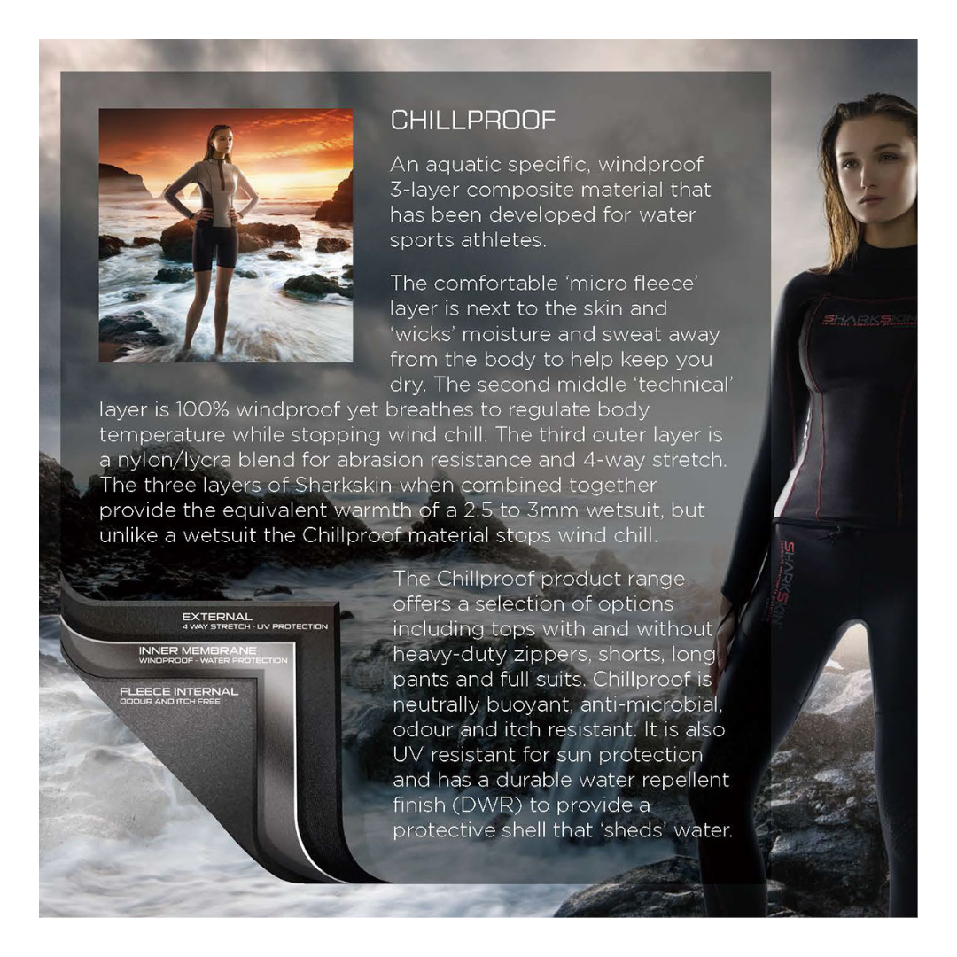 Sharkskin Chillproof  Info | Dive.VENTURES