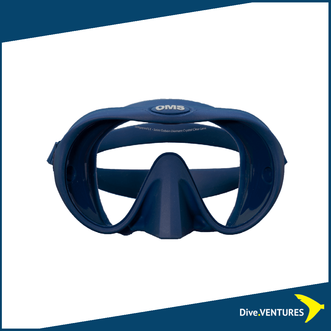 OMS Tribe Mask with Saint Gobain Ultra Clear Lens | Dive.VENTURES