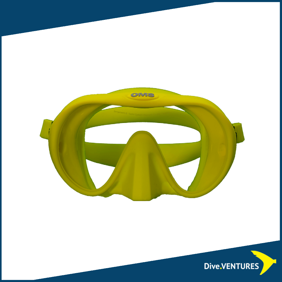 OMS Tribe Mask Yellow | Dive.VENTURES