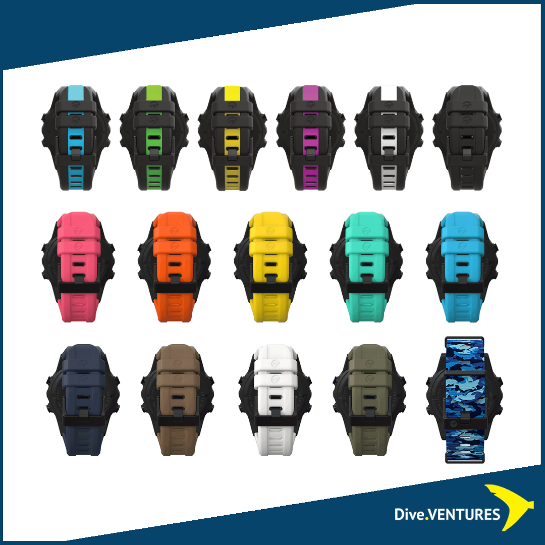 Shearwater Teric Strap colors | Dive.VENTURES