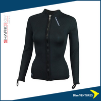 Sharkskin Titanium Chillproof Long Sleeve Full Zip Women | DIVE.VENTURES