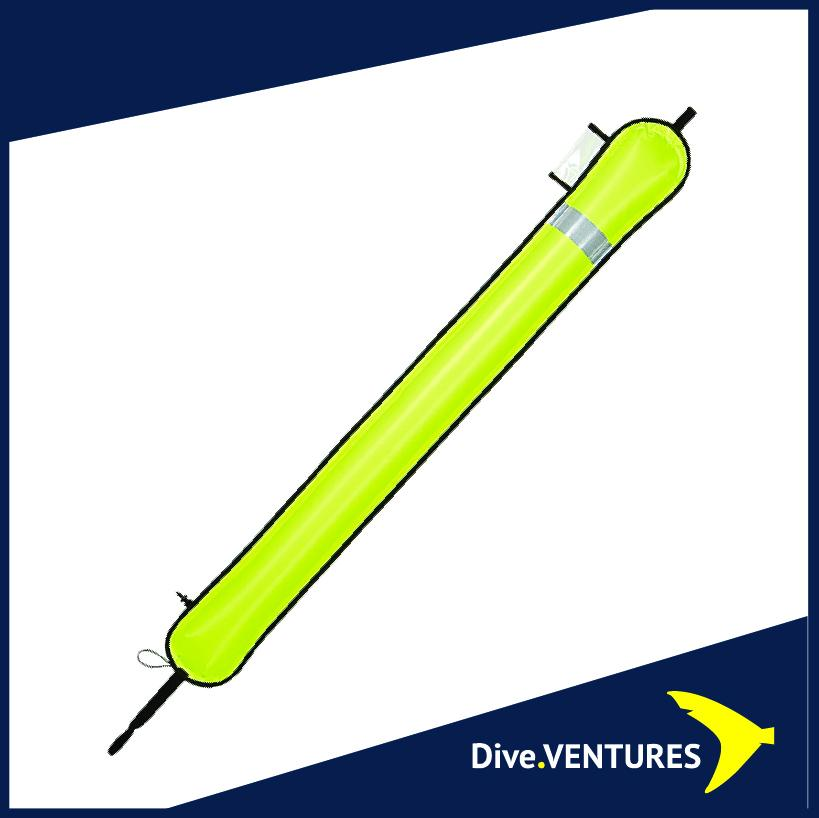 XDeep Closed DSMB Yellow | Dive.VENTURES