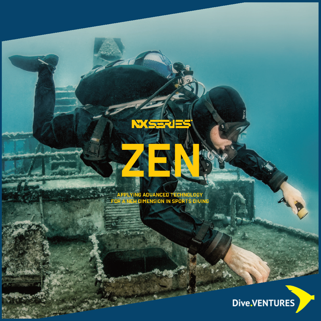 XDeep Zen Ultralight Deluxe Set | Dive.VENTURES