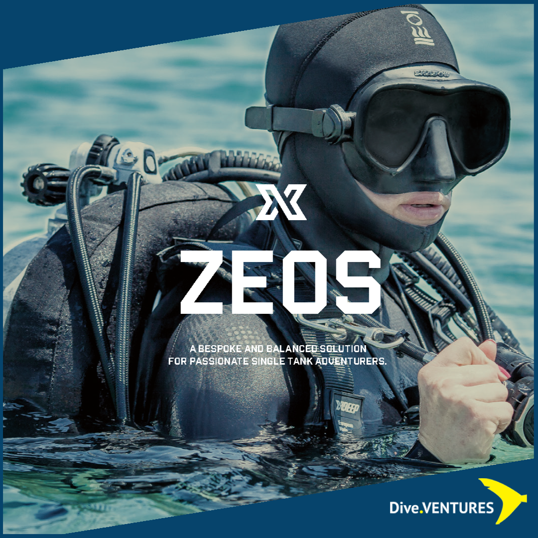 XDeep Zeos Standard Set Promo | Dive.VENTURES