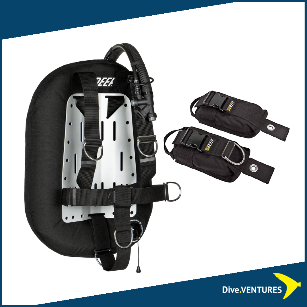 XDeep Zeos Standard Set Weight Pockets| Dive.VENTURES