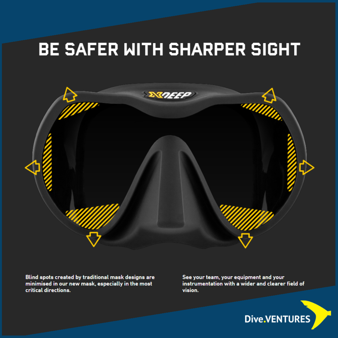 XDeep Frameless Mask  Sharper | Dive.VENTURES